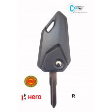 Carkey - Hero/Royal Enfield Bike Flip Key (R)-(L)