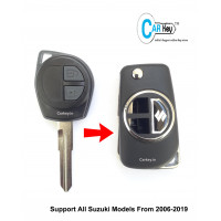 Carkey - Maruti Suzuki 2 Button Flip Key Shell