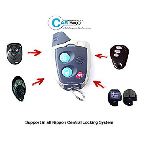 Carkey Maruti Nippon Spare Remote For Car Fitted With Nippon