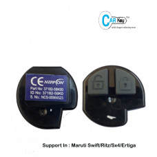 Carkey - 2 Button Nippon Remote for Swift/Sx4/Ritz/Ertiga (433MHZ)