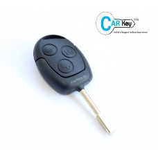Carkey - Ford Figo/Fiesta 3 Button Replacement Remote Key Shell