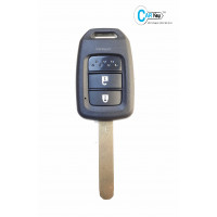 Carkey - Honda I-Dtec/I-Vtec 2 Button Replacement Remote Key Shell