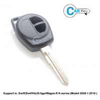 Carkey Suzuki 2-Button Remote Key Shell for SWIFT/SX4/RITZ/WAGON-R