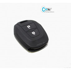 Carkey - ISUZU 2 Button Silicone Key Cover (Black)